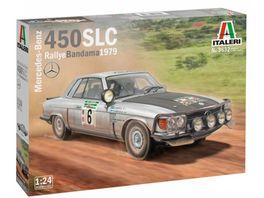 Italeri 1 24 Mercedes 450 SLC Rally d Bandama 79 510003632