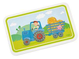 HABA Brettchen Traktor Kindergeschirr 302816
