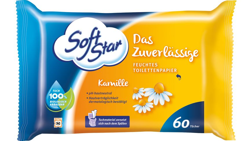 SoftStar Feuchtes Toilettenpapier Kamille