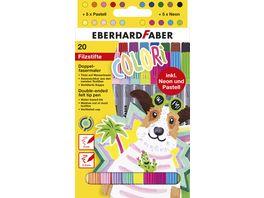 EBERHARD FABER Doppel Fasermaler Colori 20er Etui