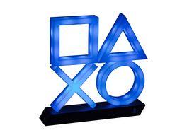 Playstation 5 Icons Leuchte XL weiss blau