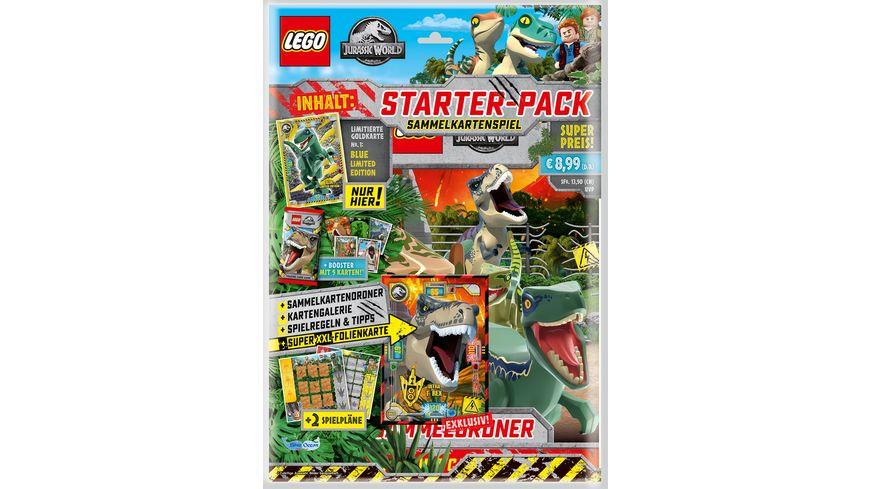 LEGO Jurassic World Trading Cards Starter Pack