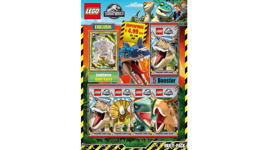 Blue Ocean - LEGO Jurassic World Trading Cards, 1 Multipack, 1 Stück, sortiert