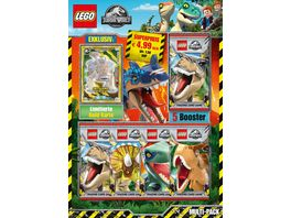 Blue Ocean LEGO Jurassic World Trading Cards 1 Multipack 1 Stueck sortiert