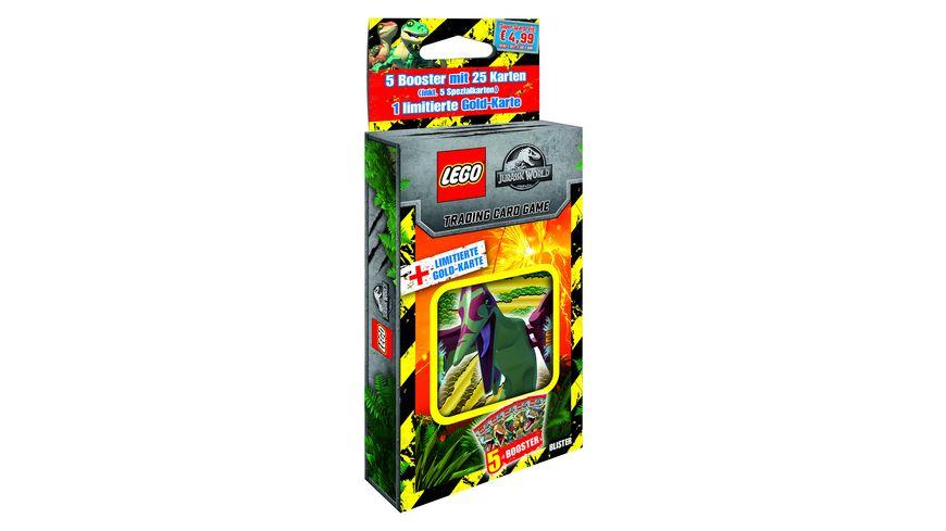 Blue Ocean - LEGO Jurassic World Trading Cards, 1 Blister, 1 Stück, sortiert