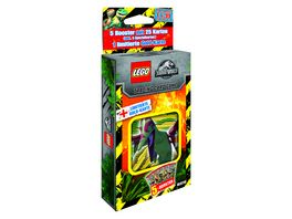 Blue Ocean LEGO Jurassic World Trading Cards 1 Blister 1 Stueck sortiert
