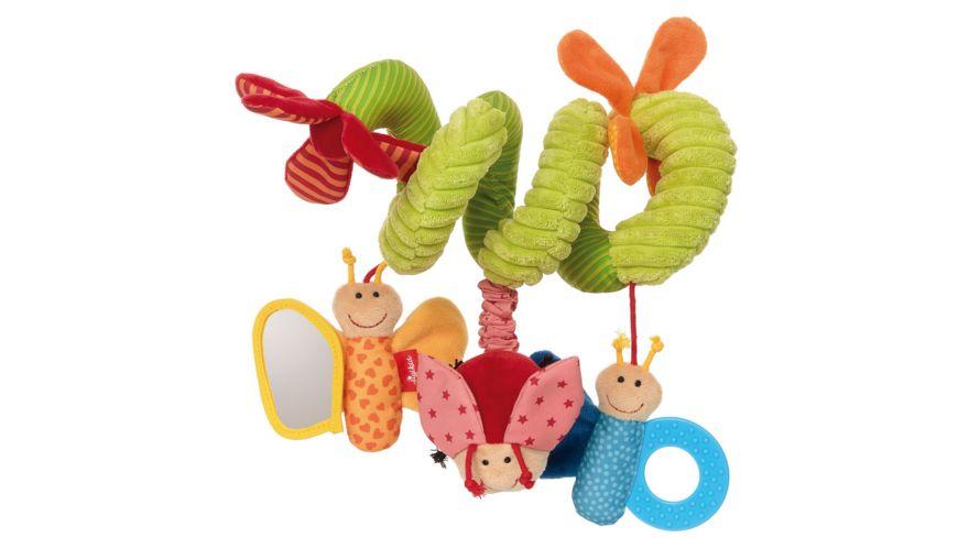 sigikid - Babyschalenspielzeug Schmetterling