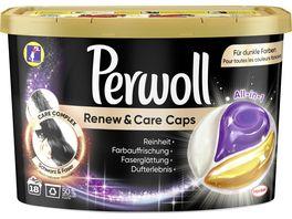 Perwoll Caps Renew Care Schwarz Faser