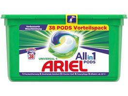 Ariel Vollwaschmittel All in 1 Pods Universal 27 3g 38WL