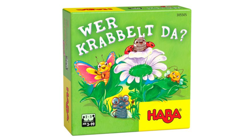 HABA Wer krabbelt da?, Kinderspiel 305505