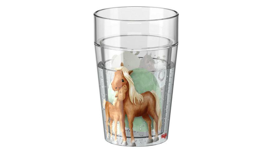 HABA Glitzerbecher Pferde 305698