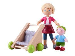 HABA Little Friends Mama Melanie und Baby Kilian 305594
