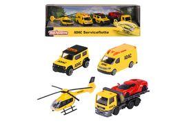 Majorette Geschenkset ADAC Serviceflotte