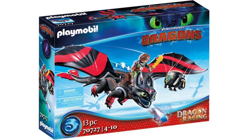 PLAYMOBIL 70727 - Dragons - Dragon Racing: Hicks und Ohnezahn