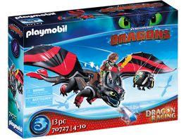 PLAYMOBIL 70727 Dragons Dragon Racing Hicks und Ohnezahn