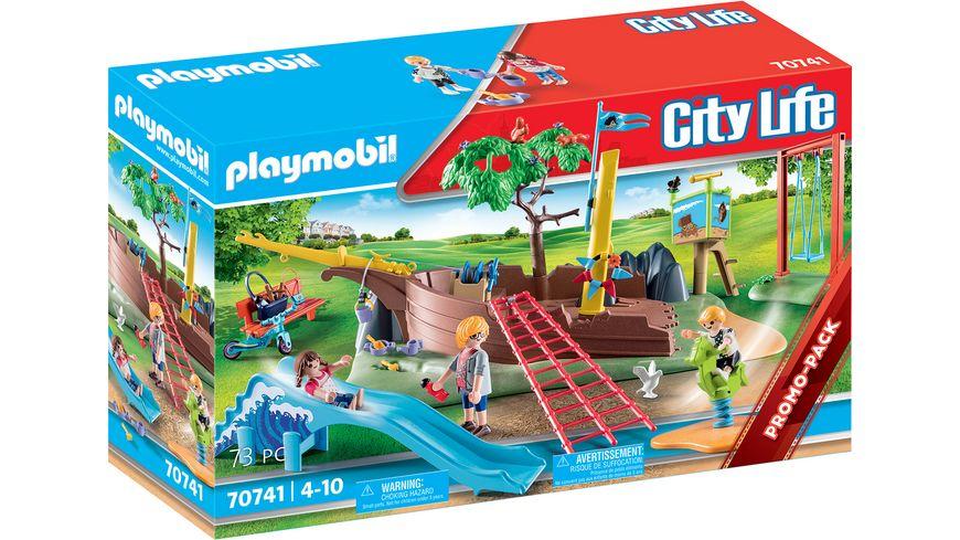 PLAYMOBIL 70741 - City Life - Abenteuerpielplatz mit Schiffswrack