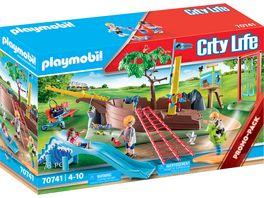 PLAYMOBIL 70741 City Life Abenteuerpielplatz mit Schiffswrack