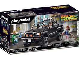PLAYMOBIL 70633 Back to the Future Marty s Pick up Truck