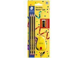 STAEDTLER Bleistift Noris 120 Set Jubilaeum HB gelb schwarz