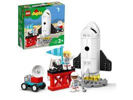 LEGO 10944 DUPLO Spaceshuttle Weltraummission Rakete Spielzeug