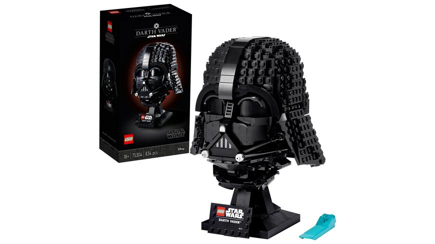 LEGO 75304 Star Wars Darth-Vader Helm Sammlerstück für Erwachsene