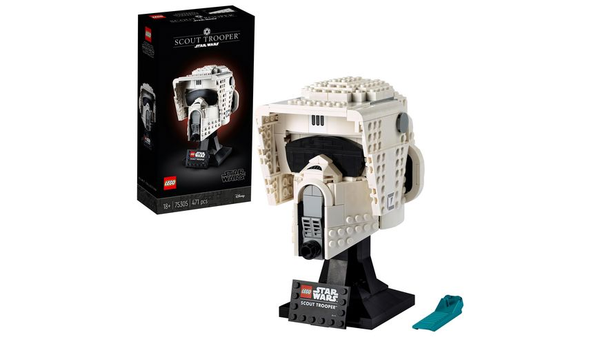 LEGO 75305 Star Wars Scout Trooper Helm Sammlerstück für Erwachsene