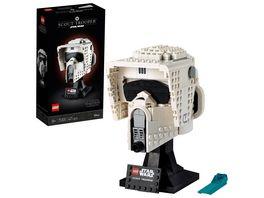LEGO 75305 Star Wars Scout Trooper Helm Sammlerstueck fuer Erwachsene