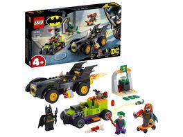 LEGO 76180 DC Batman vs Joker Verfolgungsjagd im Batmobil Superhelden