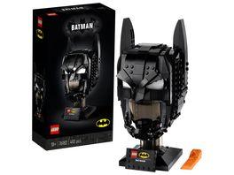 LEGO 76182 DC Batman Helm Bauset fuer Erwachsene Fanartikel