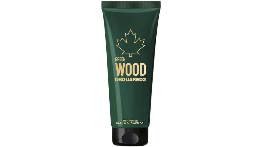 DSQUARED2 Green Wood Duschgel