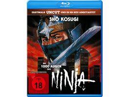 Die 1000 Augen der Ninja Uncut Edition in HD neu abgetastet
