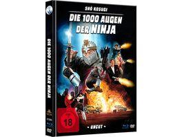 Die 1000 Augen der Ninja Uncut Limited Mediabook HD neu abgetastet DVD