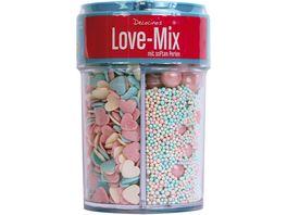 DECOCINO Streuer 4 fach Love Mix