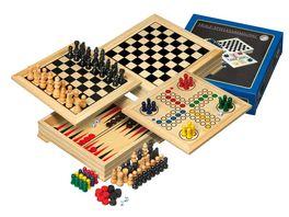 Philos Spiele Holz Spielesammlung Reise FSC 100 3104