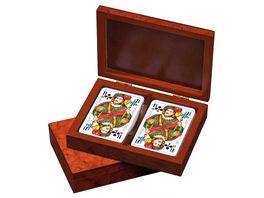 Philos Spiele Romme Karten in Kartenbox 6651
