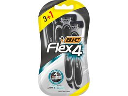 BIC Flex4 Sensitive Einwegrasierer