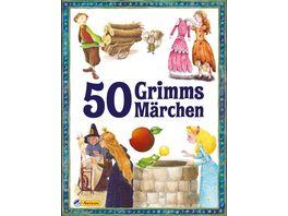 50 Grimms Maerchen neu erzaehlt