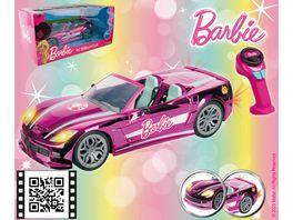 Happy People Barbie RC Dream Car Ferngesteuertes Fahrzeug 63619