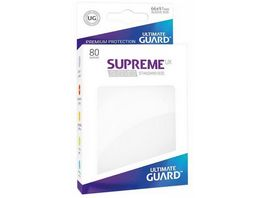 Ultimate Guard Supreme UX Sleeves 80 Weiss UGD010532