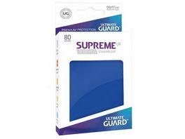 Ultimate Guard Supreme UX Sleeves 80 Blau UGD010541