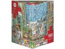 Heye Dreieckpuzzle 1000 Teile Artist s Mind Cartoon im Dreieck 299323