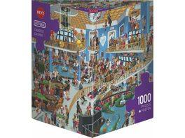 Heye Dreieckpuzzle 1000 Teile Chaotic Casino Cartoon im Dreieck 299347