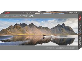 Heye Panoramapuzzle 1000 Teile Iceland Horses Edition Alexander von Humboldt 299460