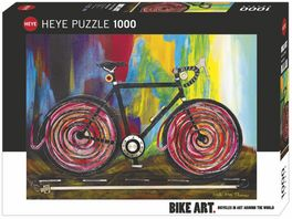 Heye Standardpuzzle 1000 Teile Momentum Bike Art 299507