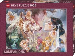 Heye Standardpuzzle 1000 Teile Shared River Companions 299606