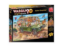 Jumbo Spiele Wasgij Original 31 1000 Teile Puzzle