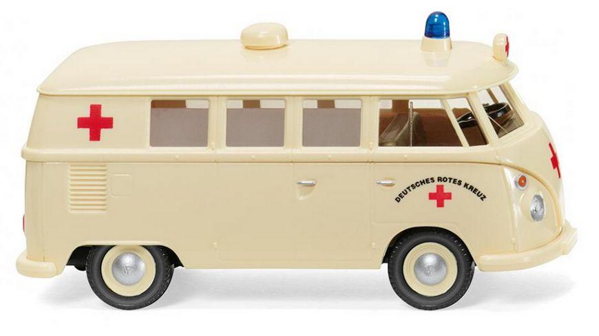 """WIKING 079729 1:87 VW T1 Bus """"DRK"""""""