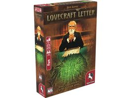 Pegasus Lovecraft Letter deutsche Ausgabe 18209G Familienspiel