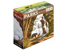 Feuerland Spiele Parks Deutsch FEU63570 Kennerspiel