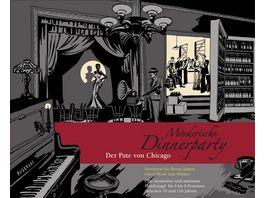 Blaubart Verlag Moerderische Dinnerparty Der Pate von Chicago BLA00007 Rollenspiel